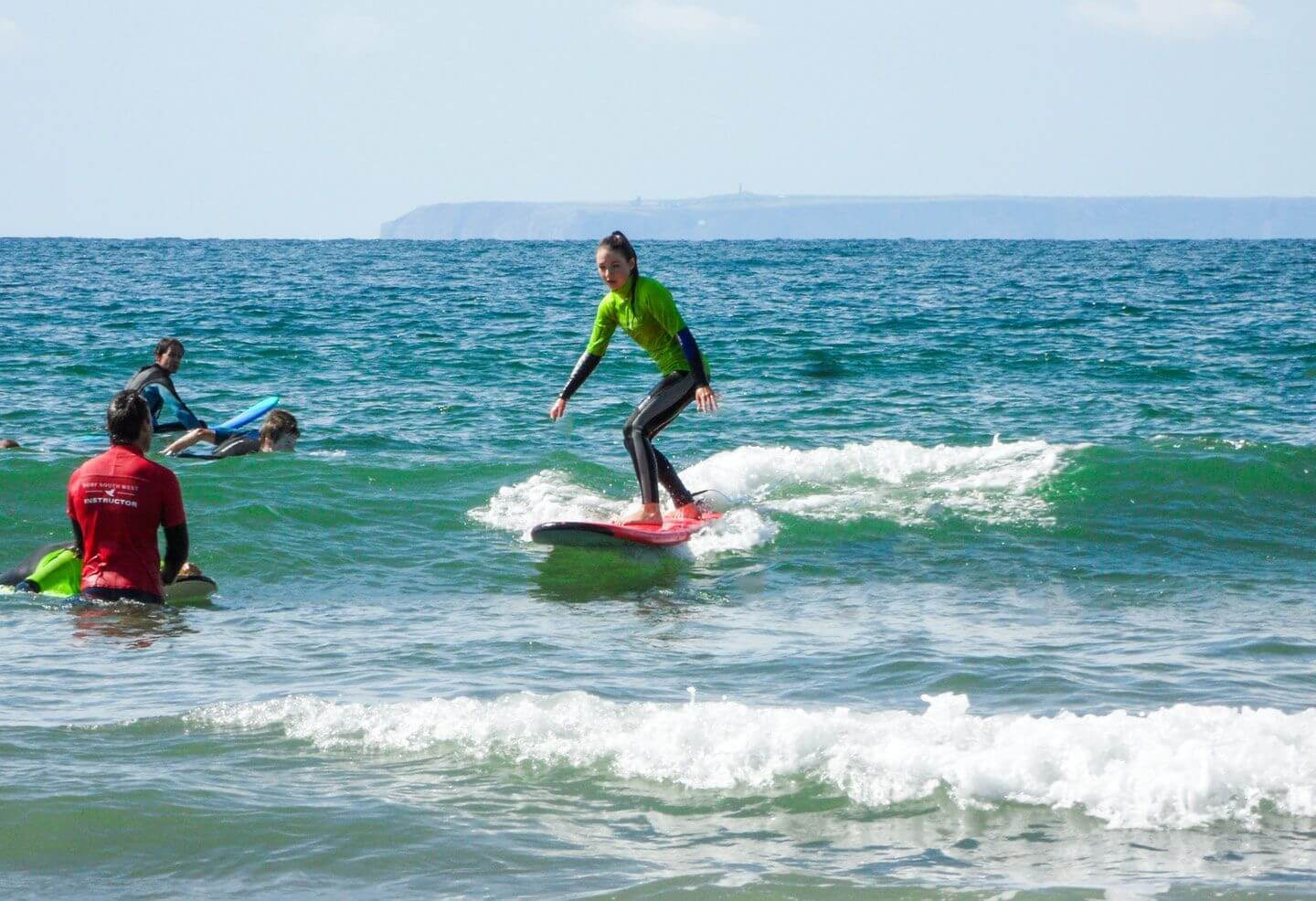 Croyde Surf School lesson