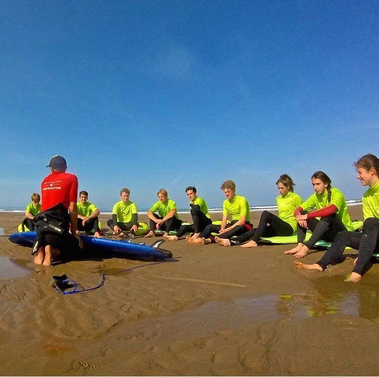 School Surf Lesson
